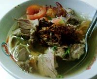 resep soto daging khas bogor enak dan spesial