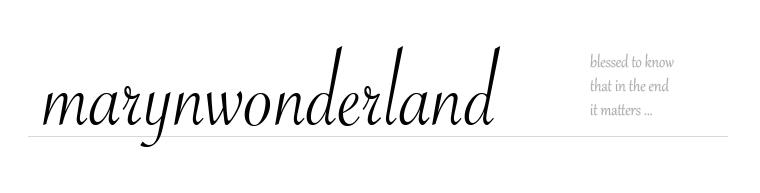 marynwonderland