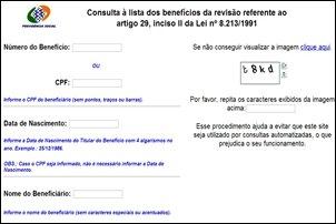 INSS divulga sobre a revisão dos auxílios-doença.
