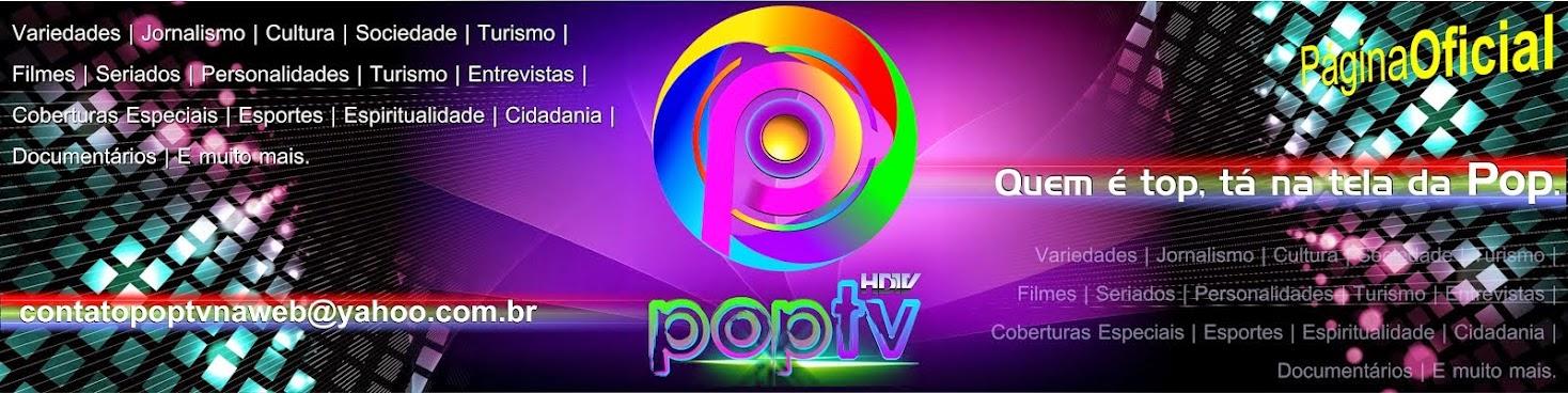 Página Oficial do Canal POP TV (webtv) - Goiás, Brasil