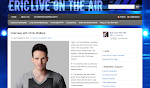 Eric Live On The Air's Website