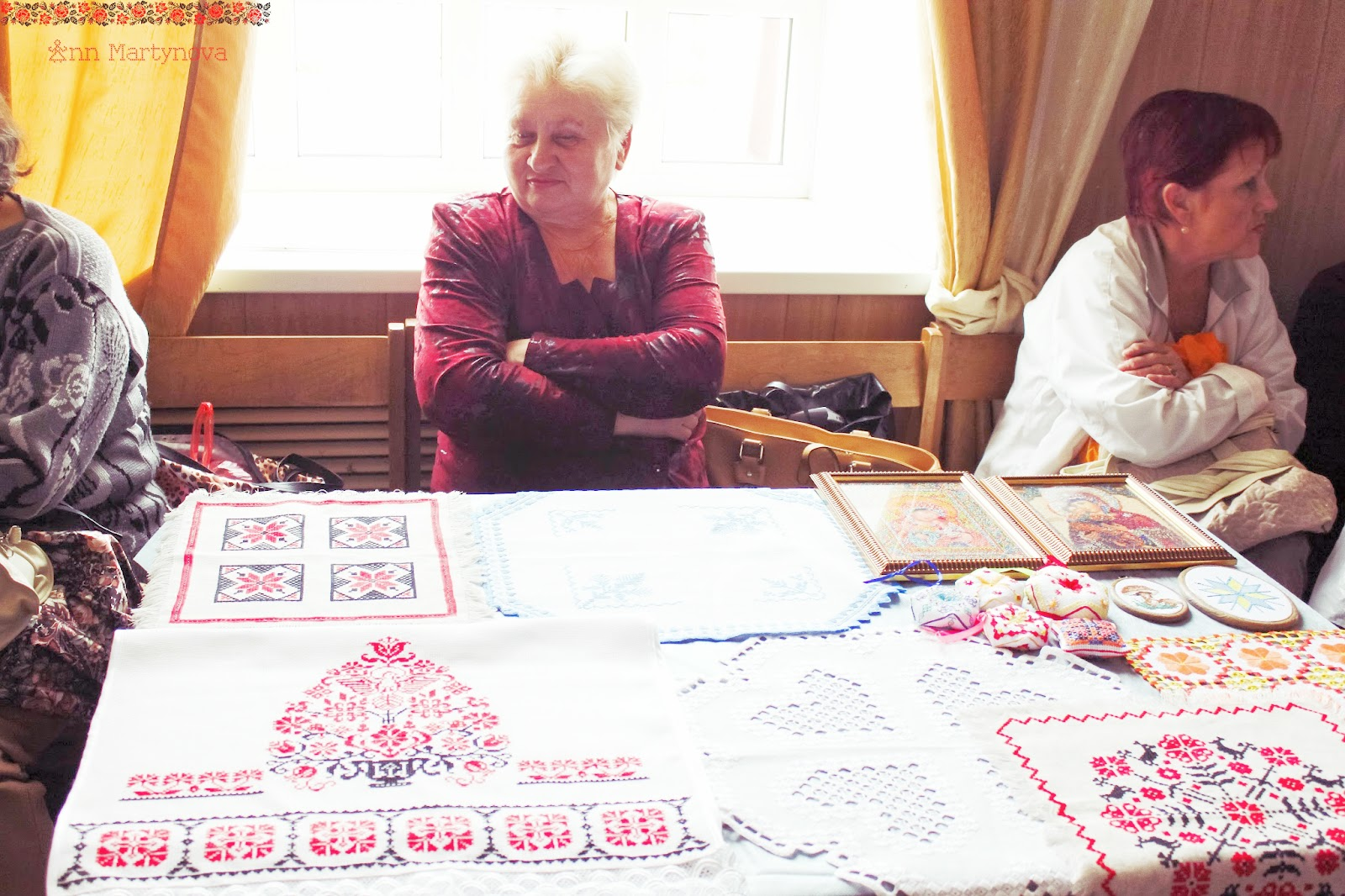 Старинная скандинавская вышивка