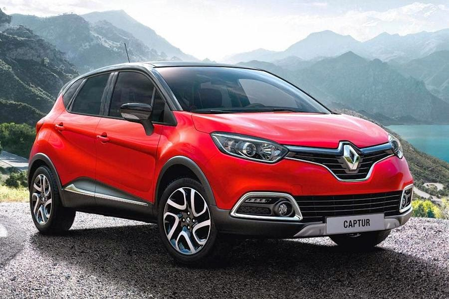 Renault Captur Signature (2014) Front Side
