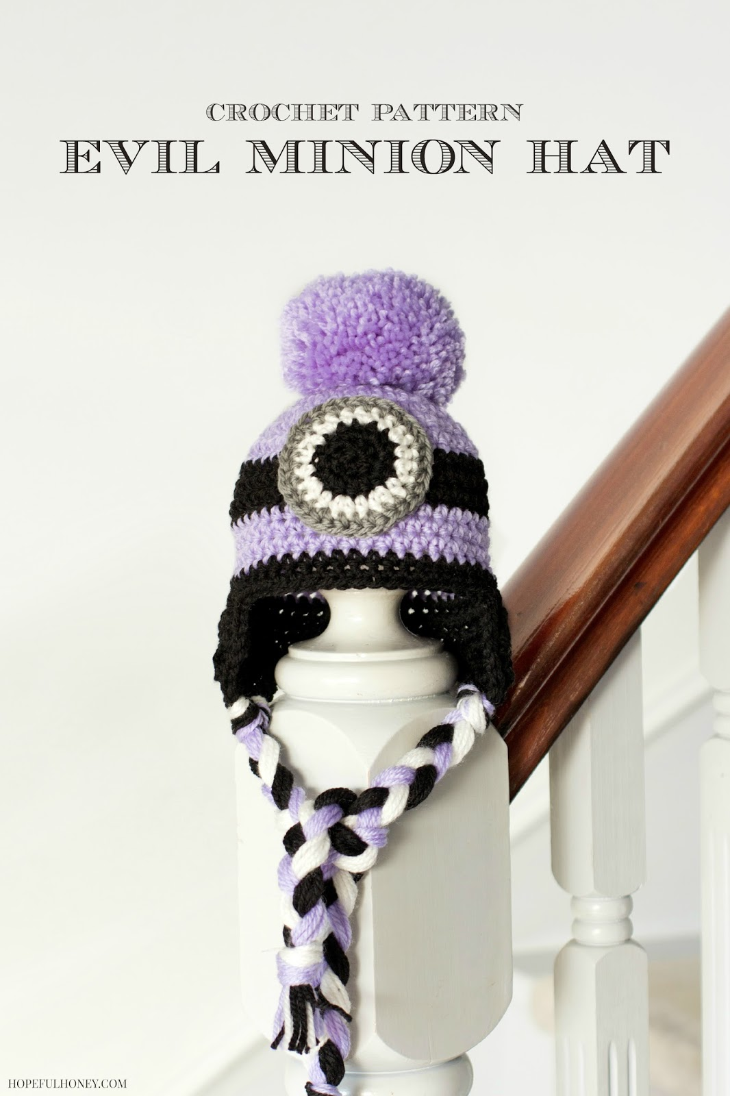 Crochet Baby Minion Hat Pattern : Hopeful Honey Craft, Crochet, Create: Free Minion ...
