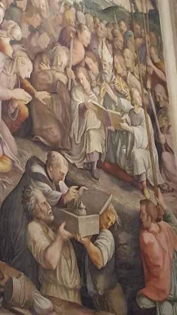 RSI: premio RER responsabilità sociale - Foto di Alberto Cardino: affresco basilica di S.Andrea, Mantova