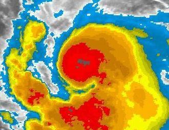 KATIA fast Hurrikan - Ist da auf dem Satellitenbild schon ein Auge zu sehen?, Katia, Atlantik, August, September, 2011, Hurrikansaison 2011, Satellitenbild Satellitenbilder, aktuell,
