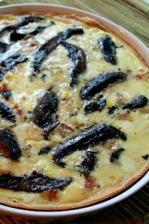Mushroom Quiche by Lavende&Lemonade