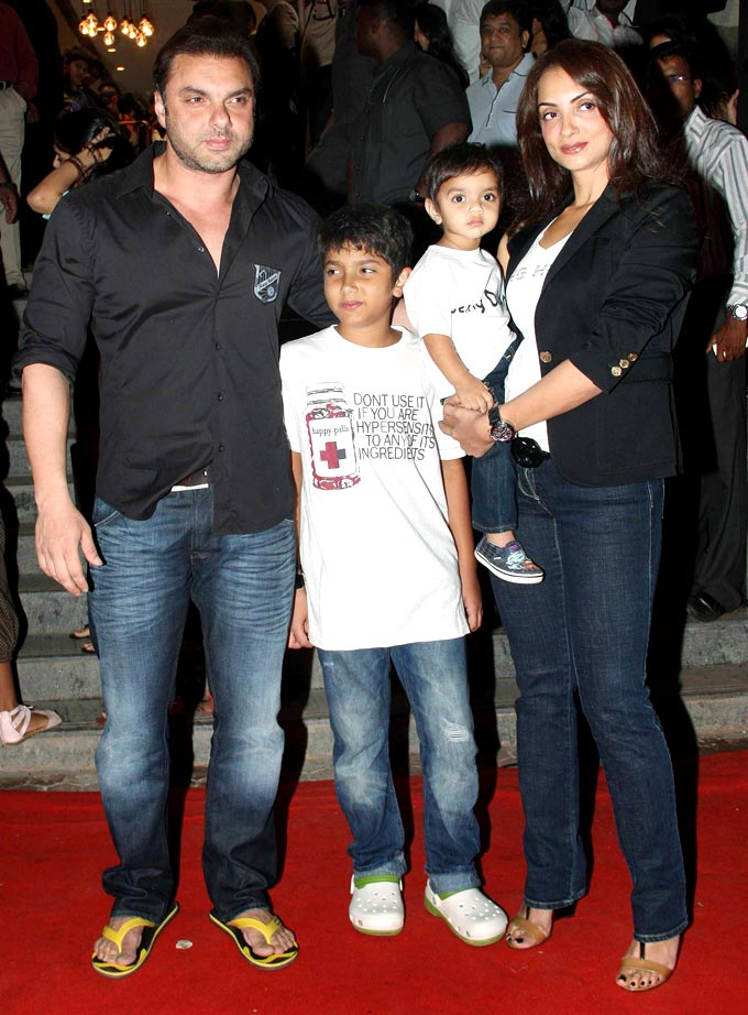 Latest News: Pictures of Salman Khan & Family at The ...