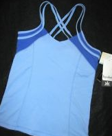 Style Athletics Kyodan Blue Tank Top