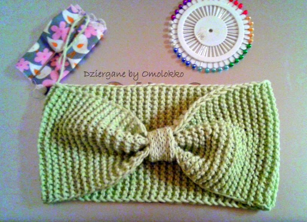 Przepaskowy miętus / mint headband