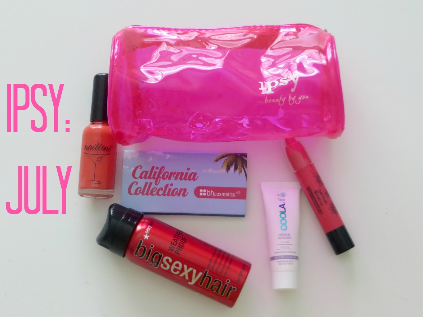 Elle Sees Beauty Blogger in Atlanta: Ipsy Glam Bag: JULY Video!