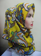 NEW COLLECTION : TUDUNG BAWAL PAISLEY CHIFFON SILK..
