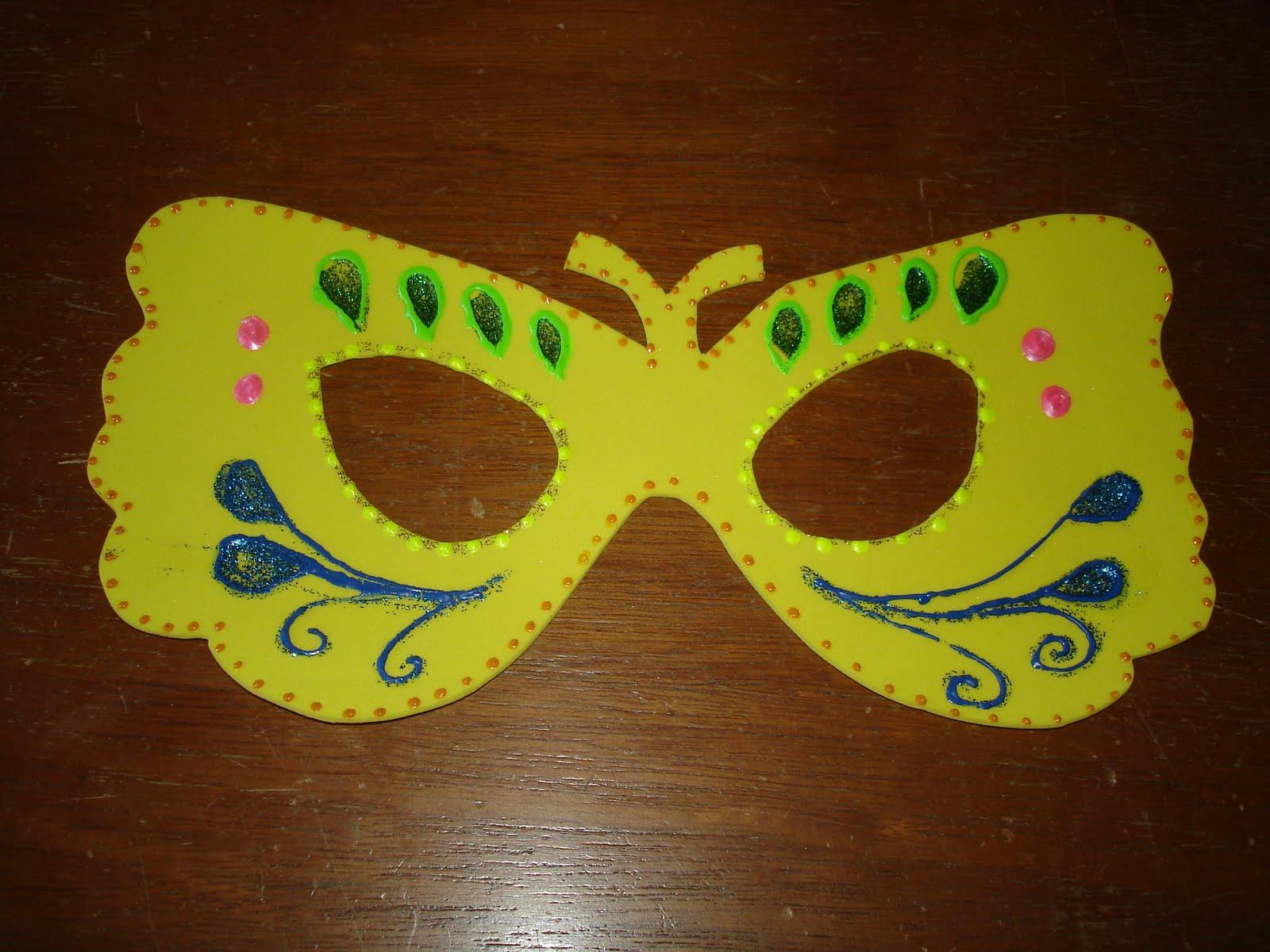 Photo collection mascara carnaval eva verde - Mascaras para carnaval ...