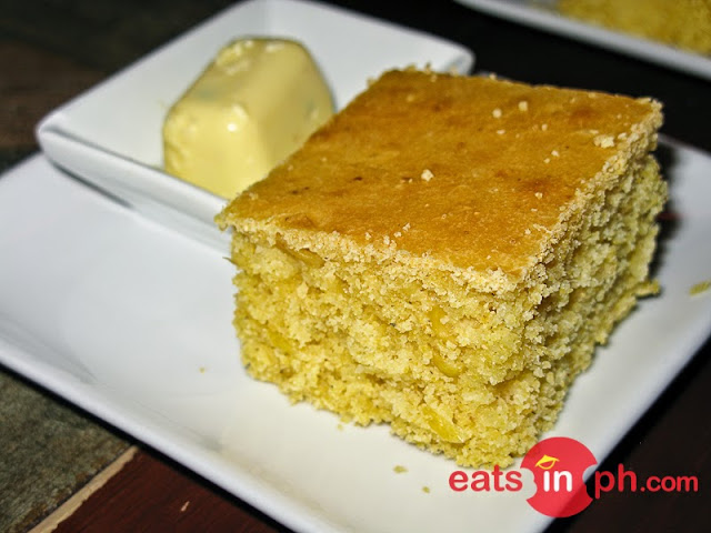 Corn Bread from Cottage Kitchen Cafe in Angeles City Pampanga