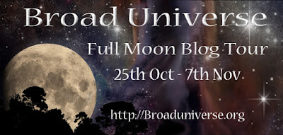 Full Moon Broad Universe Speculative Fiction Blog Hop and Giveaway