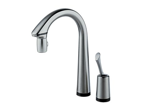 I Originally Chose This Brizo Pascal Faucet For Sanitary Reasons Envisioned Myself Cutting Up Raw Meat And Not Wanting To Touch The Handle Of My
