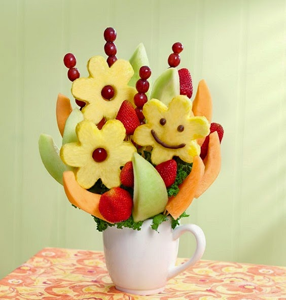 Fruits flower bouqet