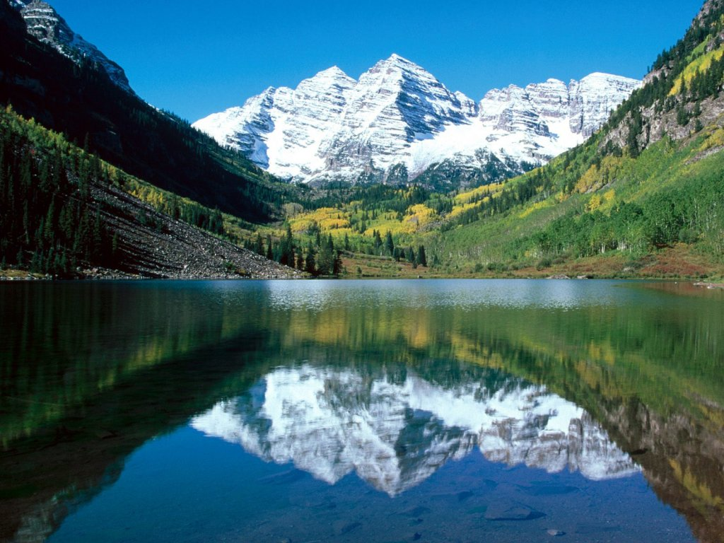 Snow Capped Maroon Bells White River National Forest Colorado || Top Wallpapers Download .blogspot.com