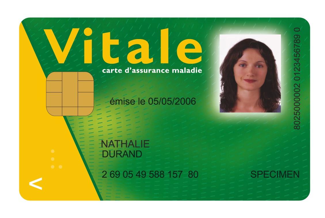 Tarjeta de la seguridad social francesa