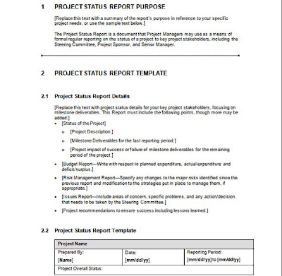 Project report template be project report template 8 best project project report word template neptun pronofoot35fo Images