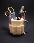 Cup Caddy Pattern, because your hooks want one.