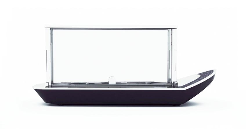 Bugatti Noun, il primo tostapane trasparente