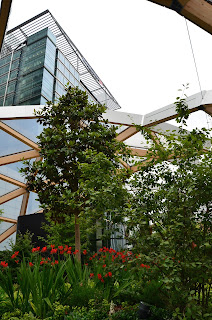 Crossrail Place Roof Garden, London
