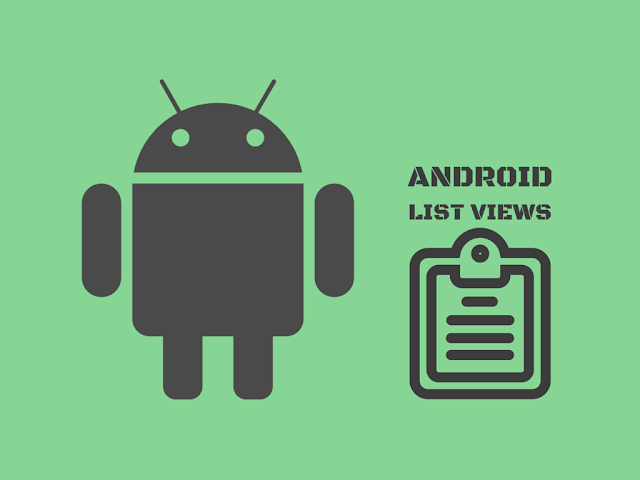 Tutorial of android list view feature for android developers