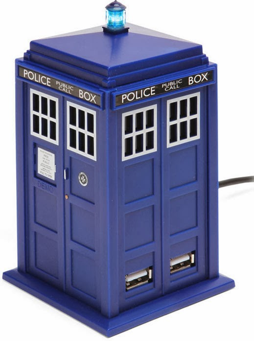 Conector USB Doctor Who Cabina TARDIS