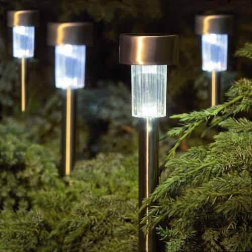 iluminacao de jardim energia solar