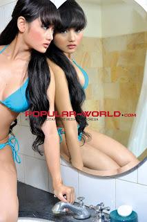 Gladysta Al'mutayiry for Popular World Magazine Photoshoot