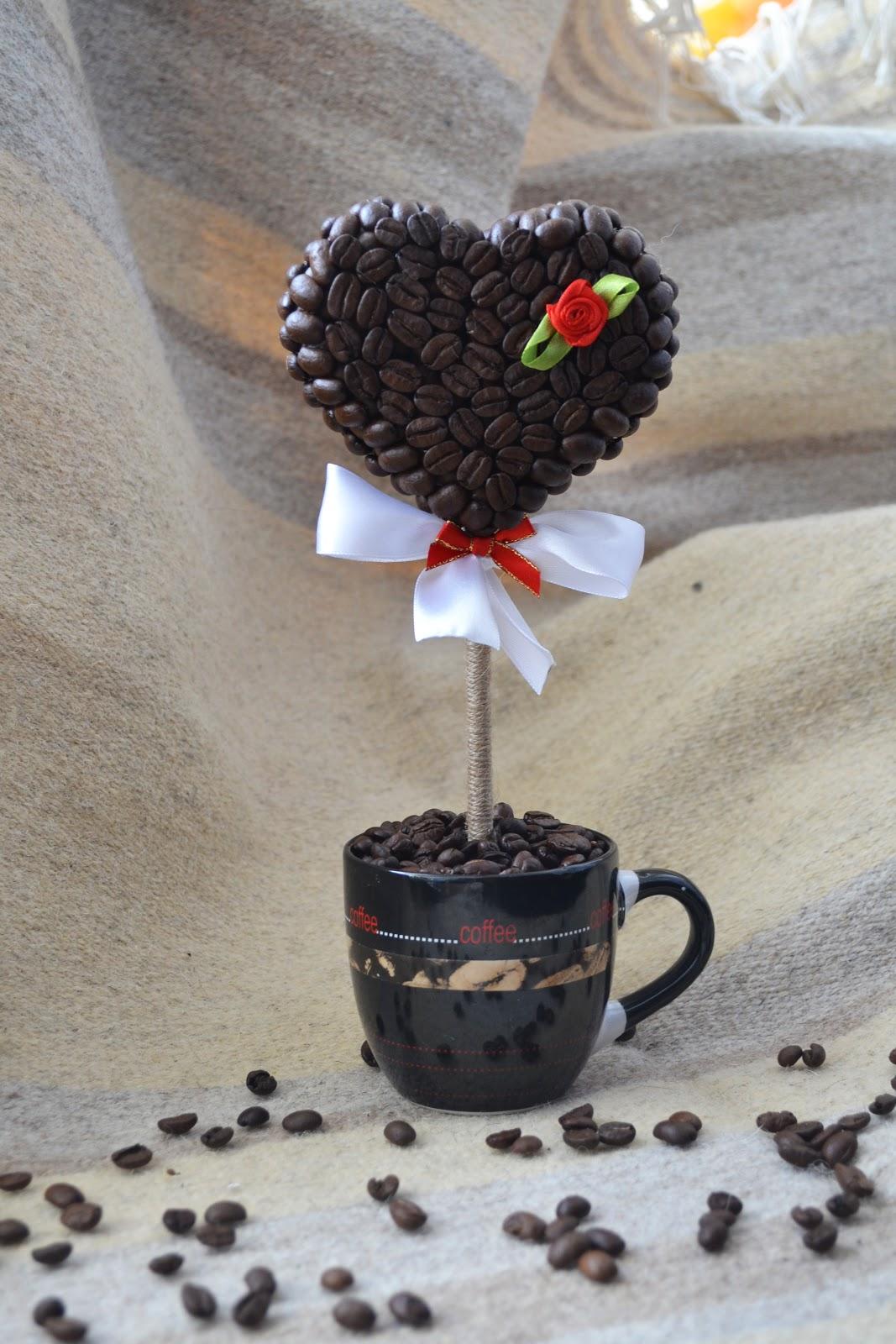 Кофейный топиарий своими руками пошаговое фото для начинающих