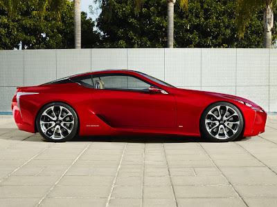 Lexus LF-LC Sport Coupé Concept Coche Car