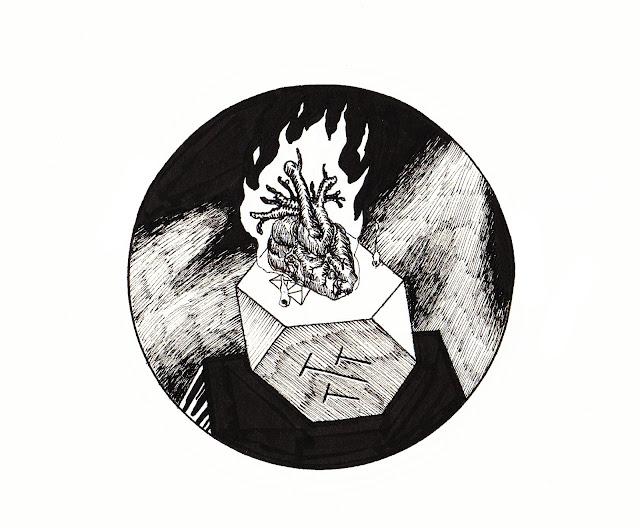 flame sacrifice hexagon charred