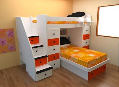 Dormitorios infantiles recamaras para bebes y ni os - Organizar habitacion ninos ...