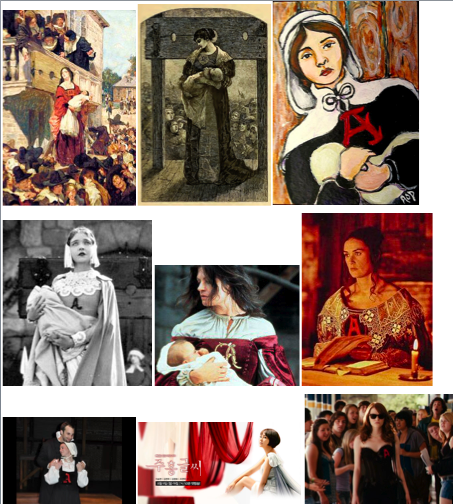 the sins of the characters of the novel the scarlet letter The scarlet letter chapters - the scarlet letter by nathaniel hawthorne  her  soul is pure and the suffering as the result of the sin teaches her never to give up  that is why she turns out to be the strongest character in the novel, intelligent and .