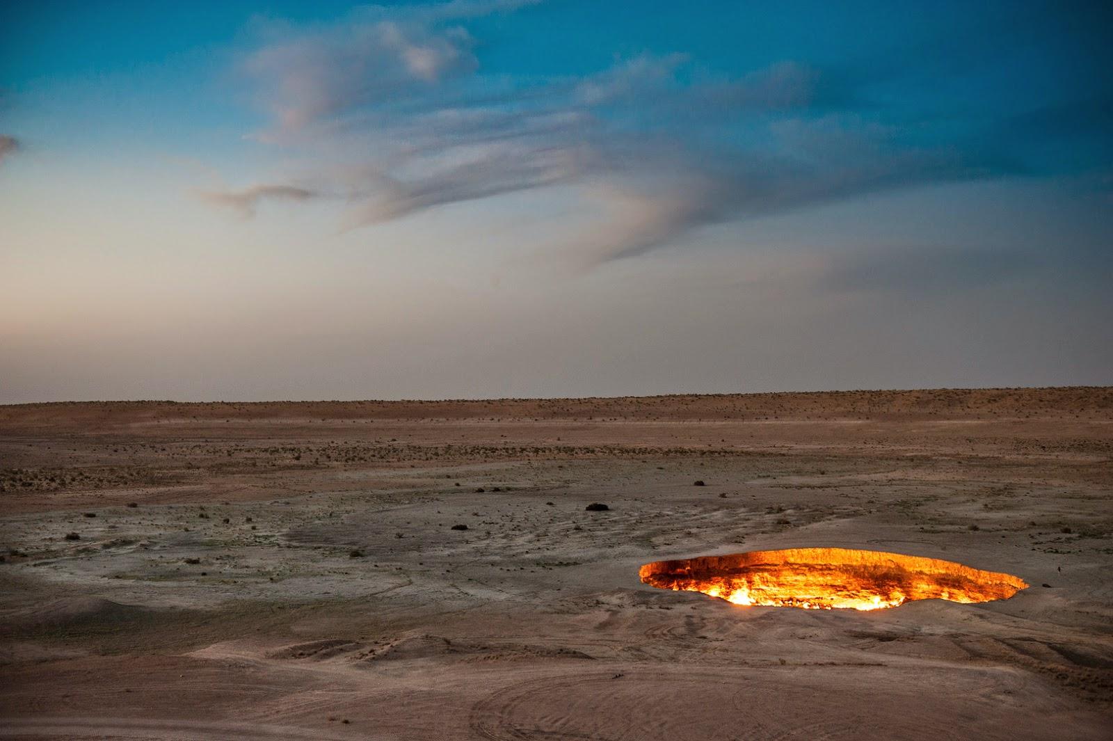 La Puerta al Infierno, Derweze, Turkmenistán
