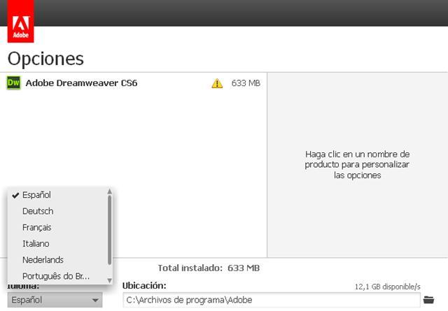 descargar dreamweaver cs6 gratis en espanol