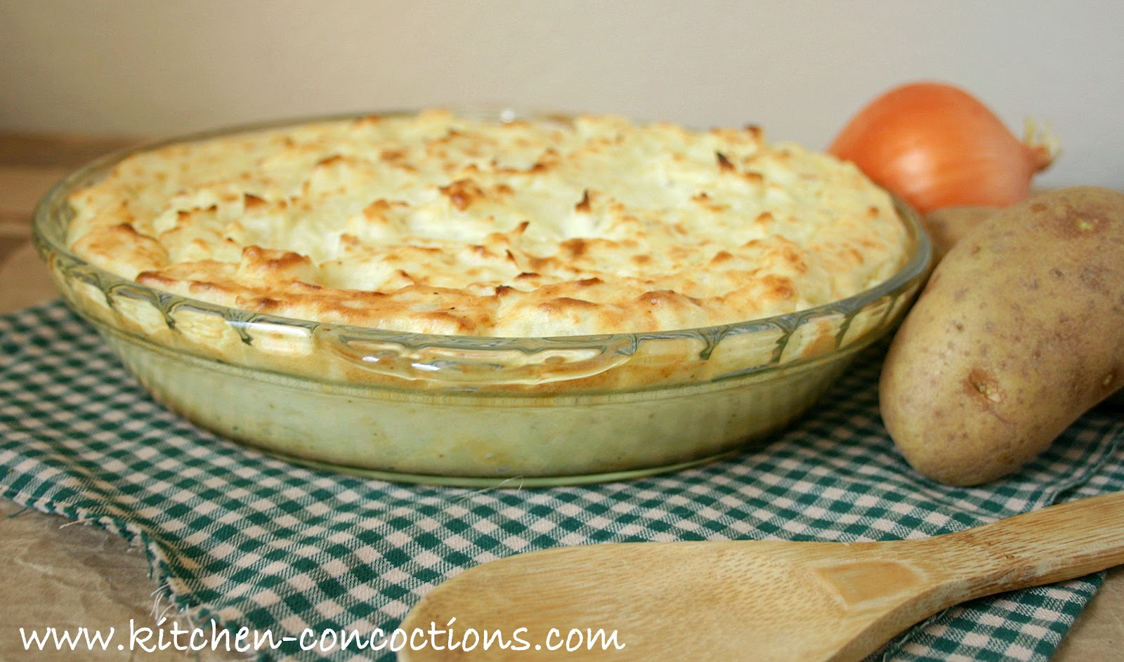 Kitchen Concoctions: Two Potato and Parsnip Baked Mashed Potatoes