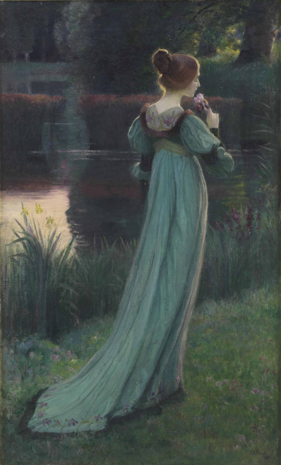Armand Point Reminiscing by the pond