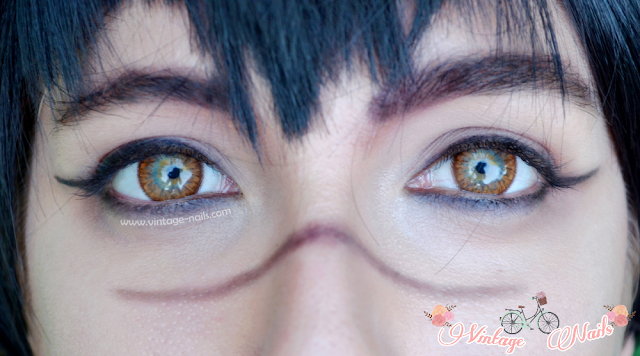 circle lenses, klenspop, contact lenses, cosplay, D.Gray-Man, Alma Karma