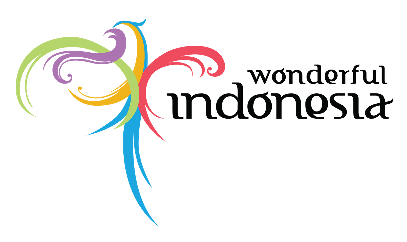 Wonderful indonesia logo black raden roro3 for Wonderful black