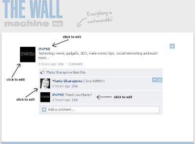 how to create fake facebook status