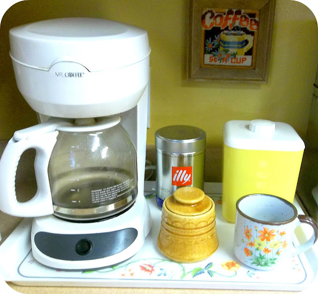 Old Mr Coffee Maker : eager hands: my new coffee corner