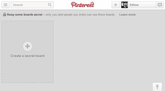 Pinterest allows unlimited secret boards.