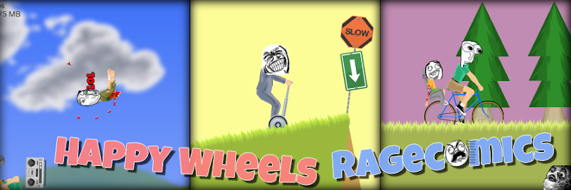 Happy Wheels Rage Comics