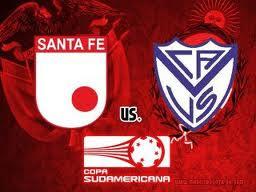 Santa Fe Vs Vélez Sarsfield Partido de Ida – Copa Sudamericana 2011