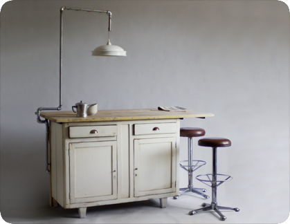 kitchen island by manoteca