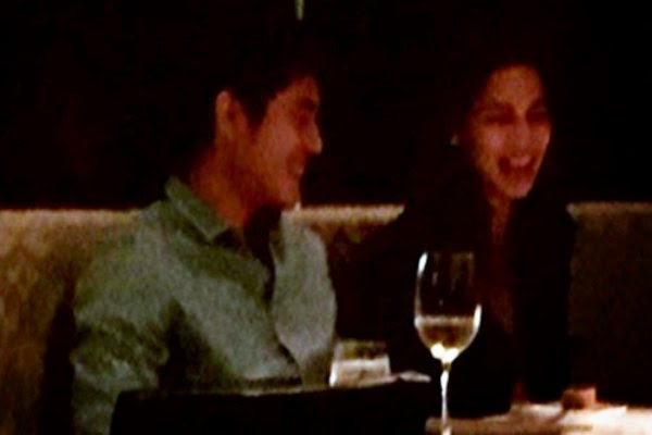 Paulo Avelino and Jasmine Curtis-Smith spotted dating?