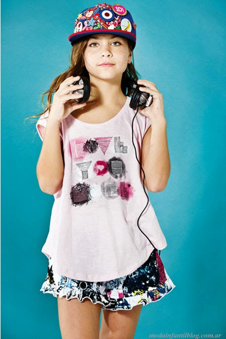 moda infantil 2014 ropa nenas